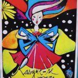 Mogimiriana Lud Fontoura expõe sua arte na Associação Comercial