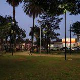 Praça da Bandeira e a Floriano Peixoto já contam com nova iluminação LED