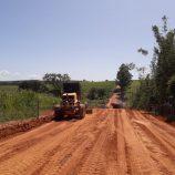 Obras de emergência recuperam estradas rurais na região do bairro Brumado