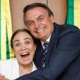 Regina Duarte assumirá a Secretaria da Cultura a convite de Bolsonaro
