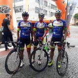 Trio participa de prova ciclística em Poços de Caldas