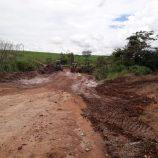 Secretaria de Agricultura libera passagens rurais obstruídas pelas chuvas