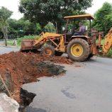 Tempestade causa danos a Mogi Mirim e Prefeitura realiza força-tarefa