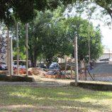Governo do Estado constrói quadra nova na Coronel Venâncio, mas sem cobertura