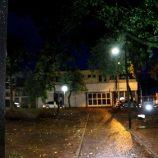 Prefeitura inaugura nova iluminação da Pça. Duque de Caxias com recursos da CIP