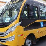 Mogi Mirim recebe novo ônibus para transporte de alunos da rede municipal