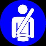 Renovias chama atenção para a importância do uso do cinto de segurança