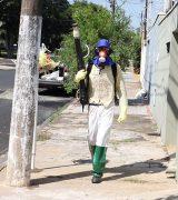 Nebulização costal é retomada em bairros da Zona Norte de Mogi Mirim