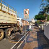 Serviço simultâneo de desinfecção de ruas alcançará todas as regiões