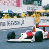 Vitória que deu 1º mundial de F1 a Senna ganha reprise na TV