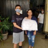 Campanha do Fundo Social recebe máscaras e também material para confecção