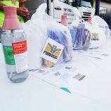 Mais de 12 mil kits de alimentação e de higiene são entregues a caminhoneiros