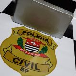 Polícia Civil prende 'Menudo'  com pasta base de cocaína
