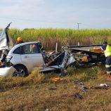 Mogimirianos morrem após colidirem frontalmente; motorista é preso