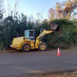Reparos são realizados no Piteiras e novo ponto de ônibus será instalado