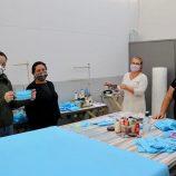 Confecção de máscaras do Fundo Social alcança 10% da população mogimiriana