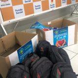 Kits de inverno são entregues em bolsas a moradores em situação de rua de Mogi