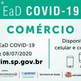 Comerciantes certificados pelo treinamento EaD Covid-19 da Prefeitura Municipal