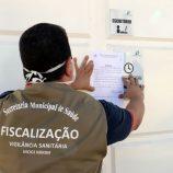 Vigilância interdita clínica de idosos com surto do novo coronavírus e 5 óbitos
