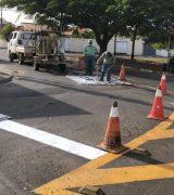 Nova sinalização de trânsito é implantada nas regiões Leste e Norte da cidade