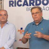 Podemos confirma Ricardo Brandão a prefeito e Geraldo Leite a vice