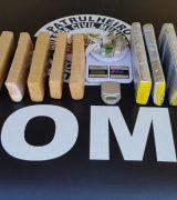 Ação da Romu apreende mais de 9 quilos de maconha na Vila Dias