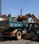 Ação contra o mosquito da dengue retira 35 caminhões de resíduos na Zona Norte