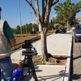Ipem São Paulo realiza verificação de radar na Avenida Brasil, em Mogi