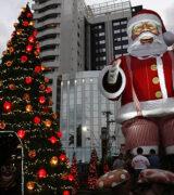 Natal da Acimm terá árvore e  Papai Noel gigantes na Praça Rui Barbosa, no Centro