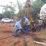 Iniciada obra da base do novo reservatório no Alto do Mirante, na Zona Leste