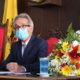 Paulo Silva, vice e vereadores tomam posse na Câmara Municipal