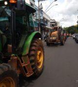 Agricultores recebem apoio de Paulo Silva em ato contra o aumento de impostos