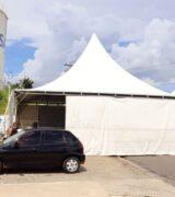 UPA reinstala tendas para atendimento de pacientes com sintomas gripais