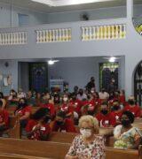 Primeira Comunhão e Crisma na Paróquia de São Joaquim e Sant'Ana