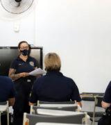 GCM's passam por treinamento para iniciar na Patrulha Maria da Penha