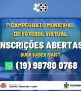 Sejel amplia prazo de inscrições para Futebol Virtual