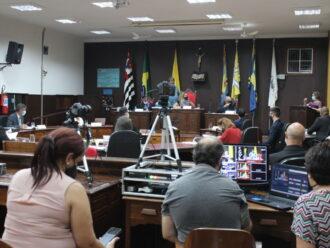Câmara Municipal aprova em 1º turno, por 13 x 3, projeto do PPA 2022-2025