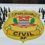 Polícia Civil prende rapaz com 61 pinos de cocaína