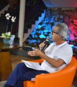 Prefeito Paulo Silva é entrevistado pelo presidente da Associação Comercial