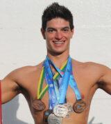 Conrado Lino inicia disputa da seletiva olímpica da natação