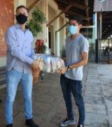 Acimm doa 1 tonelada em cestas básicas à Prefeitura e pede flexibilização