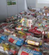Clube e Voo e Escola de Aviação Rocket realizam nova doação de cestas básicas