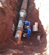 Saae vai substituir rede de abastecimento de água na região central e Zona Sul