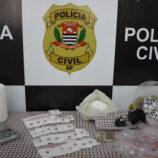 Ações da Polícia Civil levam homem e mulher para a cadeia