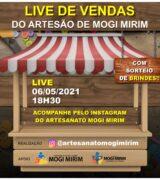 Grupo de artesãos promove live nesta 5ª, às 18h30, para venda de produtos