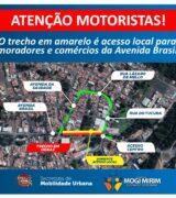 Novo trecho da Avenida Brasil será interditado nesta 3ª para obras da Sesamm