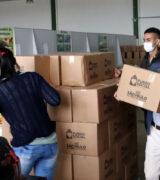 Prefeitura Municipal distribui 805 cestas básicas para entidades assistenciais