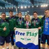 Sete medalhas no Paulista Juvenil a Sênior de Natação