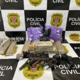 Polícia Civil apreende drogas, armas e prende 3 homens no Santa Luzia