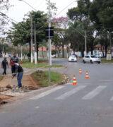 Secretaria de Mobilidade Urbana realiza melhorias em 32 faixas elevadas